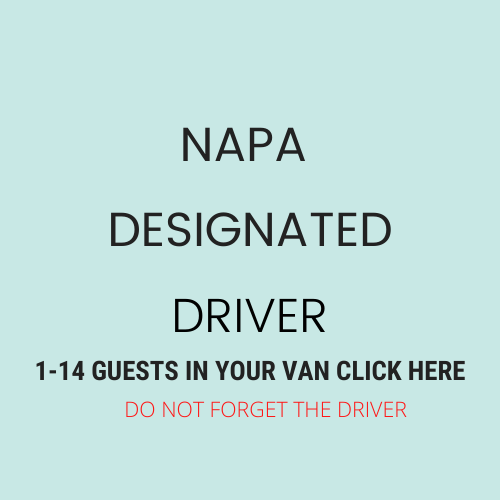 Click ABOVE For Designated Driver 1-14 People DRIVING YOUR VAN PLUS THE DRIVER