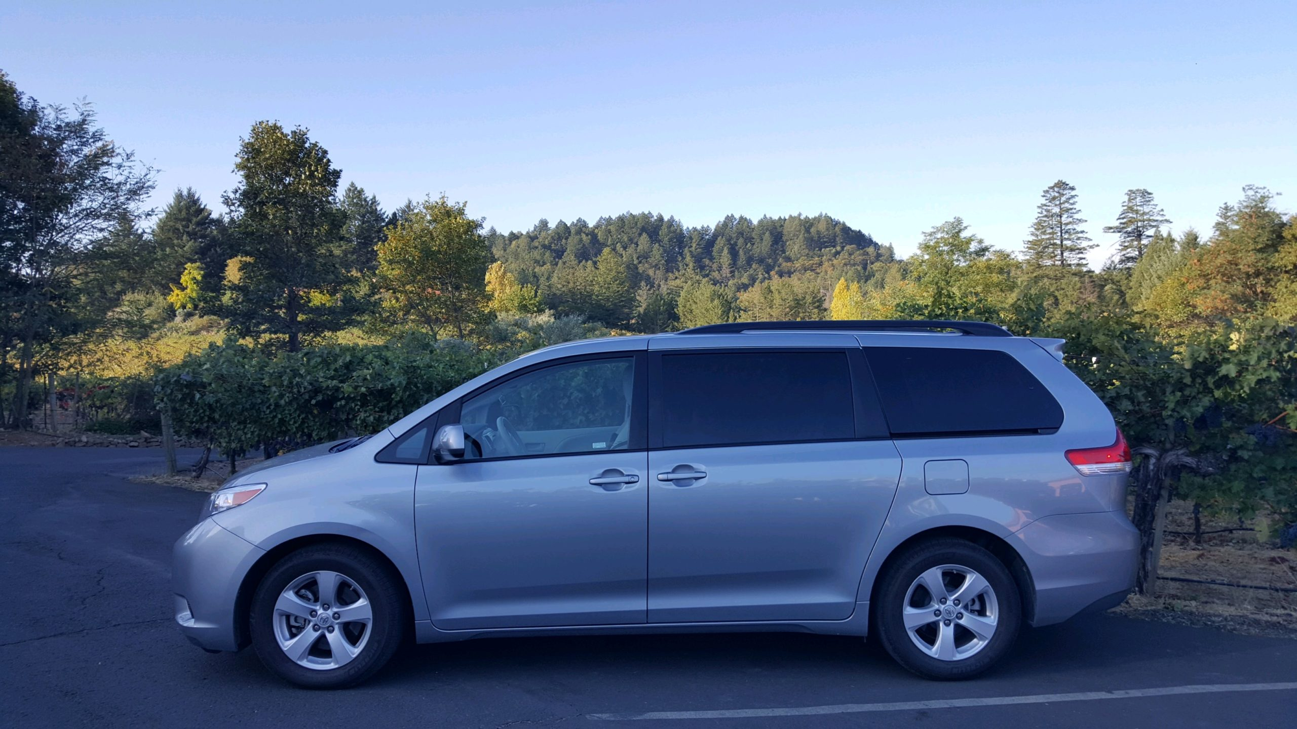 Our Toyota Sienna Van Seats 7 Guests- $60 Credit Car or $55 Cash